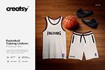 篮球训练制服样机