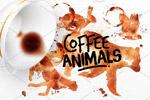 咖啡斑迹动物图形
