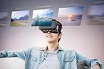 VR眼镜科技海报