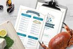 海鲜菜单模板