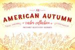 美国秋季元素