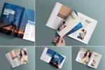 杂志画册样机