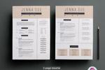 2页的简历模板