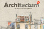建筑设计稿PS动作