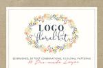 花卉logo模板