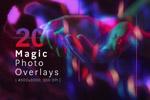 魔术照片叠加纹理
