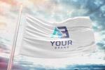 企业形象旗帜样机