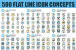 线型概念创意龙8国际娱乐