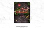 圣诞派对传单海报