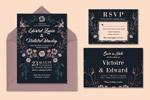 黑色梦幻婚礼设计