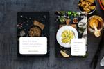 食品餐厅APP模板