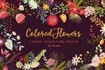 花卉花纹图案