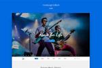 音乐网站模板