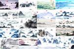 80款中式山水画