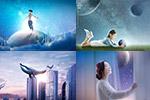 梦幻星球地产广告