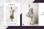 夏季服装画册模板