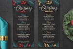 新年圣诞菜单