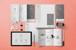 三折页设计样机