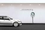 绿色能源汽车海报