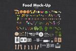 食品素材元素场景
