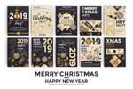 新年圣诞节海报