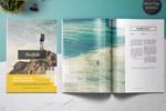 旅游摄影画册模板