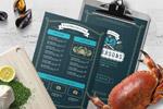 海鲜食物菜单