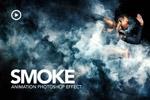 烟雾特效PS动作