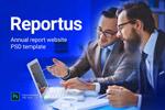 年度报告网站模板