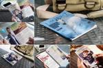 阅读场景杂志样机
