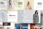 时尚品牌KEY模板