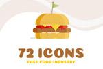 72快餐图标