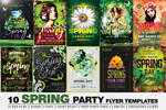 10款春季促销海报