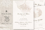 冬季婚礼邀请函