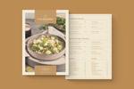 优雅高品质菜单