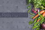 线条水果蔬菜图标