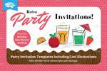 儿童派对聚会邀请函