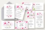 花卉婚礼邀请函