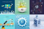 网络虚拟经济海报