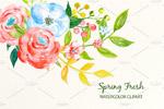 水彩花卉插画