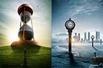 创意时间主题海报