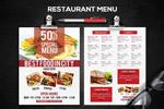 餐厅菜单海报