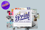 装订印刷展示样机