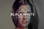 黑白调色PS动作