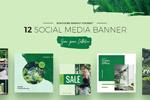 环保色社交媒体广告