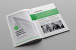 绿色清新商业画册