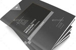 灰色企业画册
