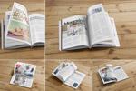 杂志版式设计样机