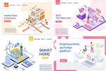 商务插画元素网页