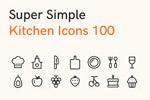 100厨房图标